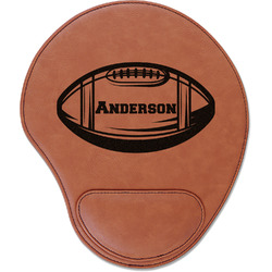 Sports Leatherette Mouse Pad with Wrist Support (Personalized)