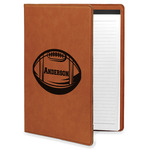Sports Leatherette Portfolio with Notepad (Personalized)