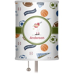"Sports 7"" Drum Lamp Shade (Personalized)"