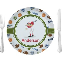 Sports Glass Lunch / Dinner Plates 10