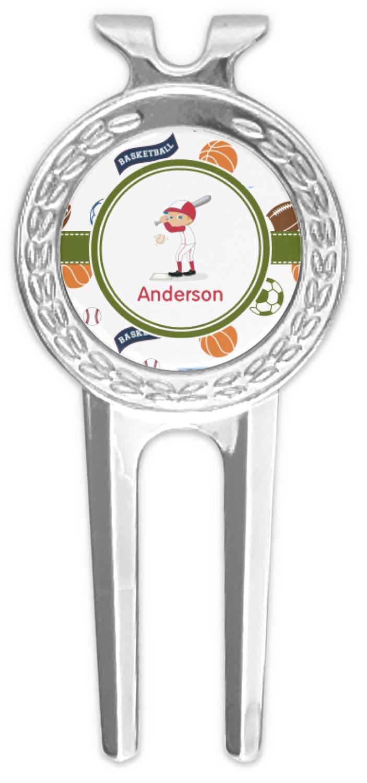 a9d32548286 Sports Golf Divot Tool   Ball Marker (Personalized) - YouCustomizeIt