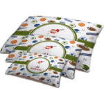 Sports Dog Bed w/ Name or Text