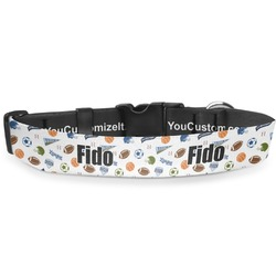 Sports Deluxe Dog Collar (Personalized)