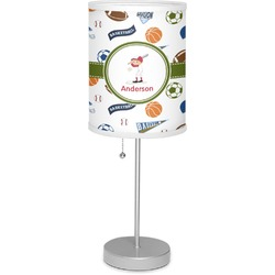 "Sports 7"" Drum Lamp with Shade (Personalized)"