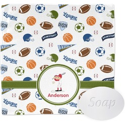 Sports Wash Cloth (Personalized)