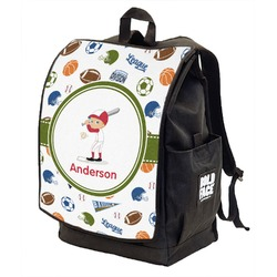 Sports Backpack w/ Front Flap  (Personalized)