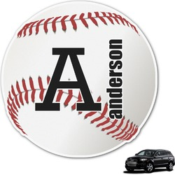 Sports Graphic Car Decal (Personalized)