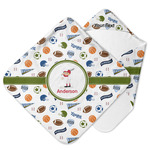 Sports Hooded Baby Towel (Personalized)