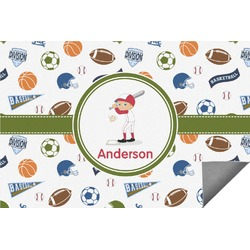Sports Indoor / Outdoor Rug (Personalized)