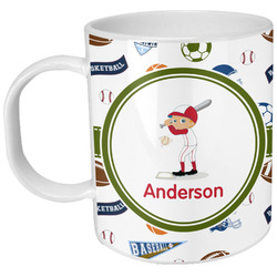 Sports Plastic Kids Mug (Personalized)