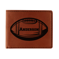 Sports Leatherette Bifold Wallet (Personalized)