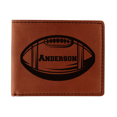 Sports Leatherette Bifold Wallet (Personalized)