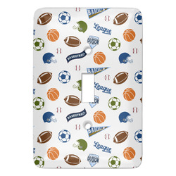 Sports Light Switch Covers - Multiple Toggle Options Available (Personalized)