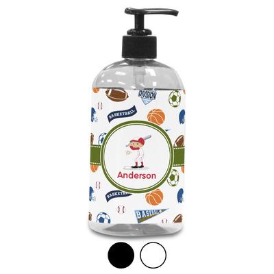 Sports Plastic Soap / Lotion Dispenser (Personalized)