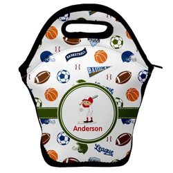 Sports Lunch Bag w/ Name or Text