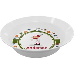 Sports Melamine Bowl (Personalized)