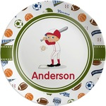 Sports Melamine Plate (Personalized)