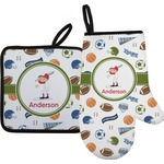 Sports Oven Mitt & Pot Holder (Personalized)