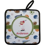 Sports Pot Holder (Personalized)