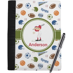 Sports Notebook Padfolio (Personalized)