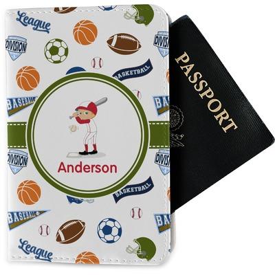 Sports Passport Holder - Fabric (Personalized)