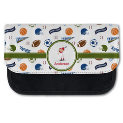 Sports Canvas Pencil Case w/ Name or Text