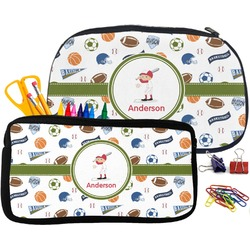 Sports Pencil / School Supplies Bag (Personalized)