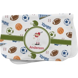 Sports Burp Cloth (Personalized)