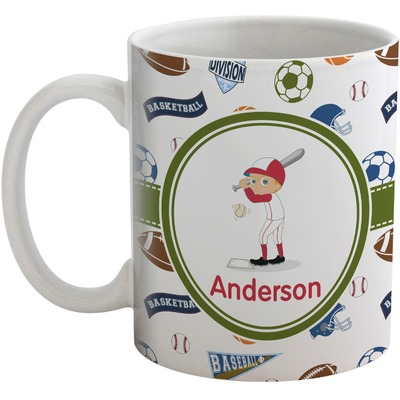Sports Coffee Mug (Personalized)