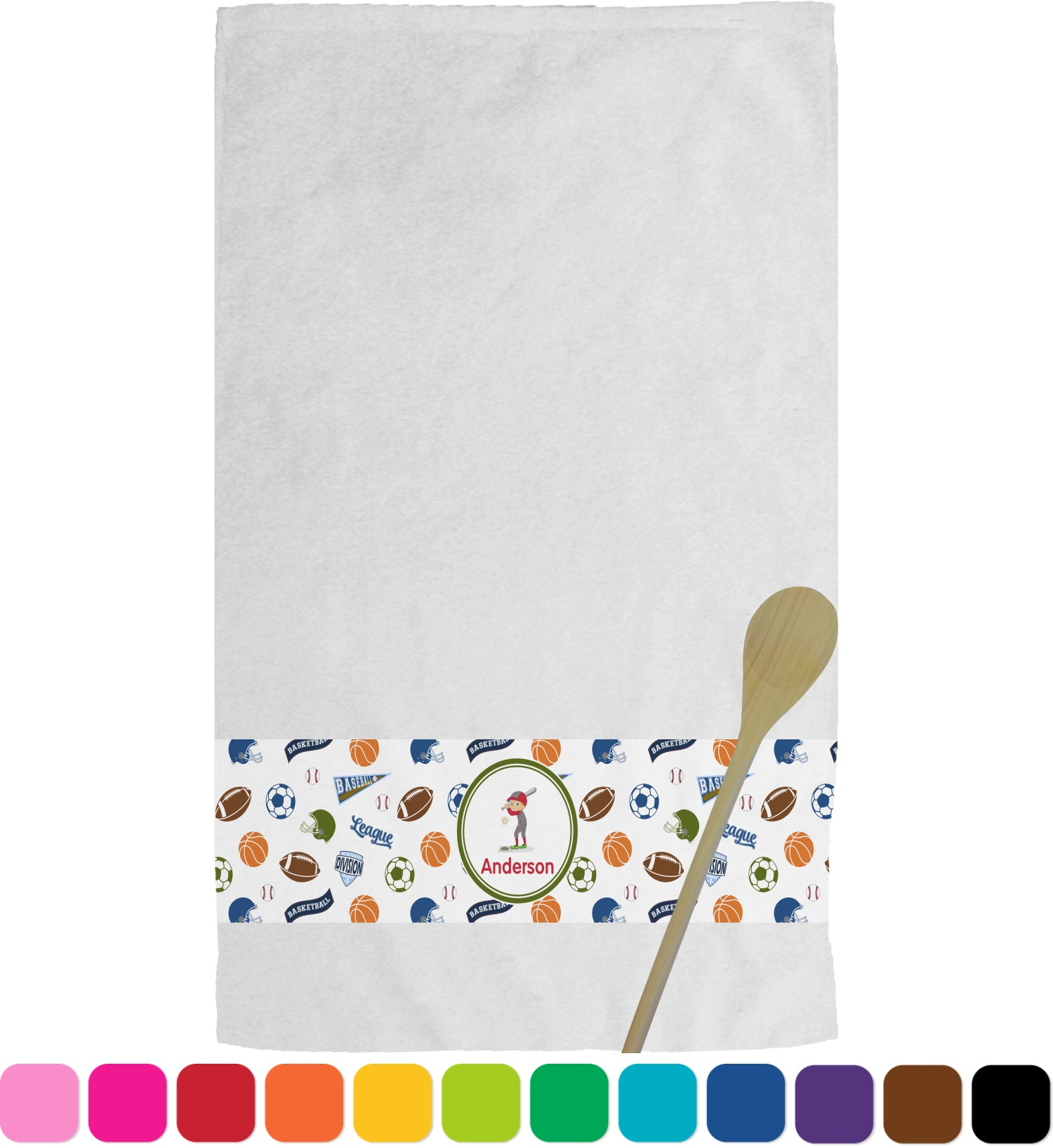 how to make personalized dish towels