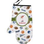 Sports Left Oven Mitt (Personalized)