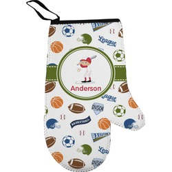 Sports Oven Mitt (Personalized)