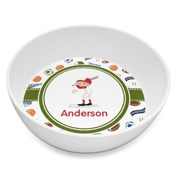 Sports Melamine Bowl 8oz (Personalized)