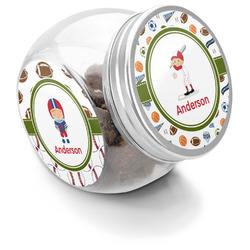 Sports Puppy Treat Jar (Personalized)