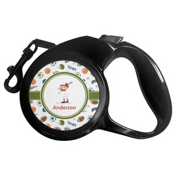 Sports Retractable Dog Leash - Multiple Sizes (Personalized)