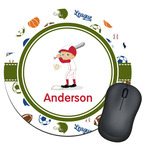 Sports Round Mouse Pad (Personalized)