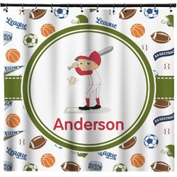 Sports Shower Curtain (Personalized)