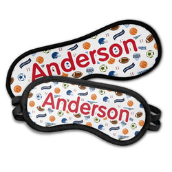 Sports Sleeping Eye Masks (Personalized)