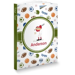 Sports Softbound Notebook (Personalized)