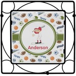 Sports Square Trivet (Personalized)