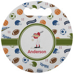 Sports Stadium Cushion (Round) (Personalized)