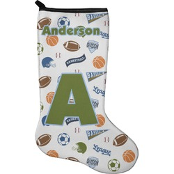 Sports Holiday Stocking - Neoprene (Personalized)