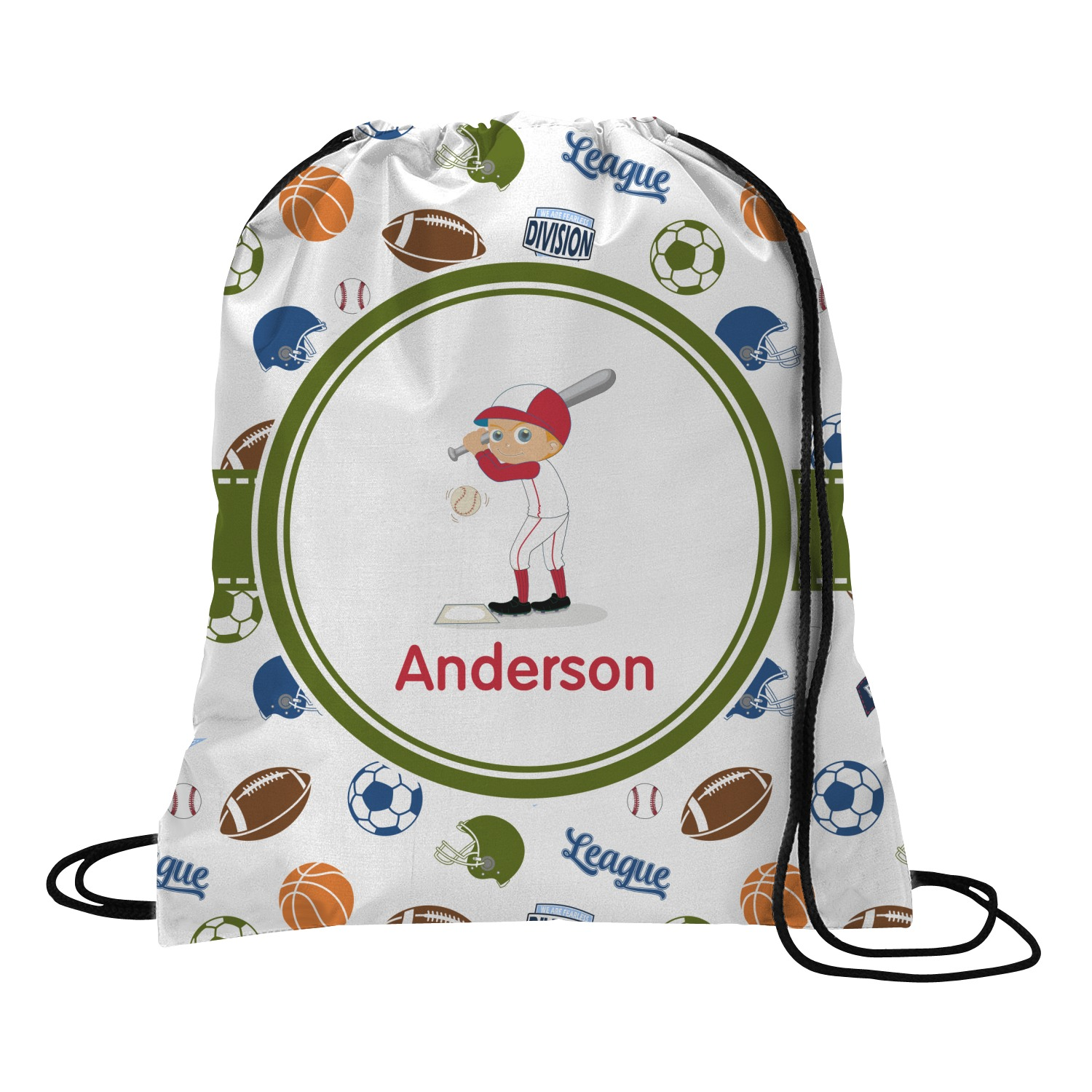 c8fb289756bd Sports Drawstring Backpack (Personalized) - YouCustomizeIt