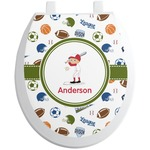 Sports Toilet Seat Decal (Personalized)