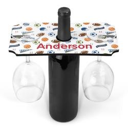 Sports Wine Bottle & Glass Holder (Personalized)