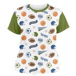 Sports Women's Crew T-Shirt (Personalized)