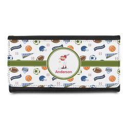 Sports Leatherette Ladies Wallet (Personalized)