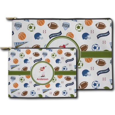 Sports Zipper Pouch (Personalized)