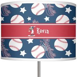 "Baseball 13"" Drum Lamp Shade (Personalized)"