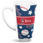 Baseball 16 Oz Latte Mug (Personalized)